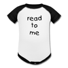Read To Me Onesies - white/black