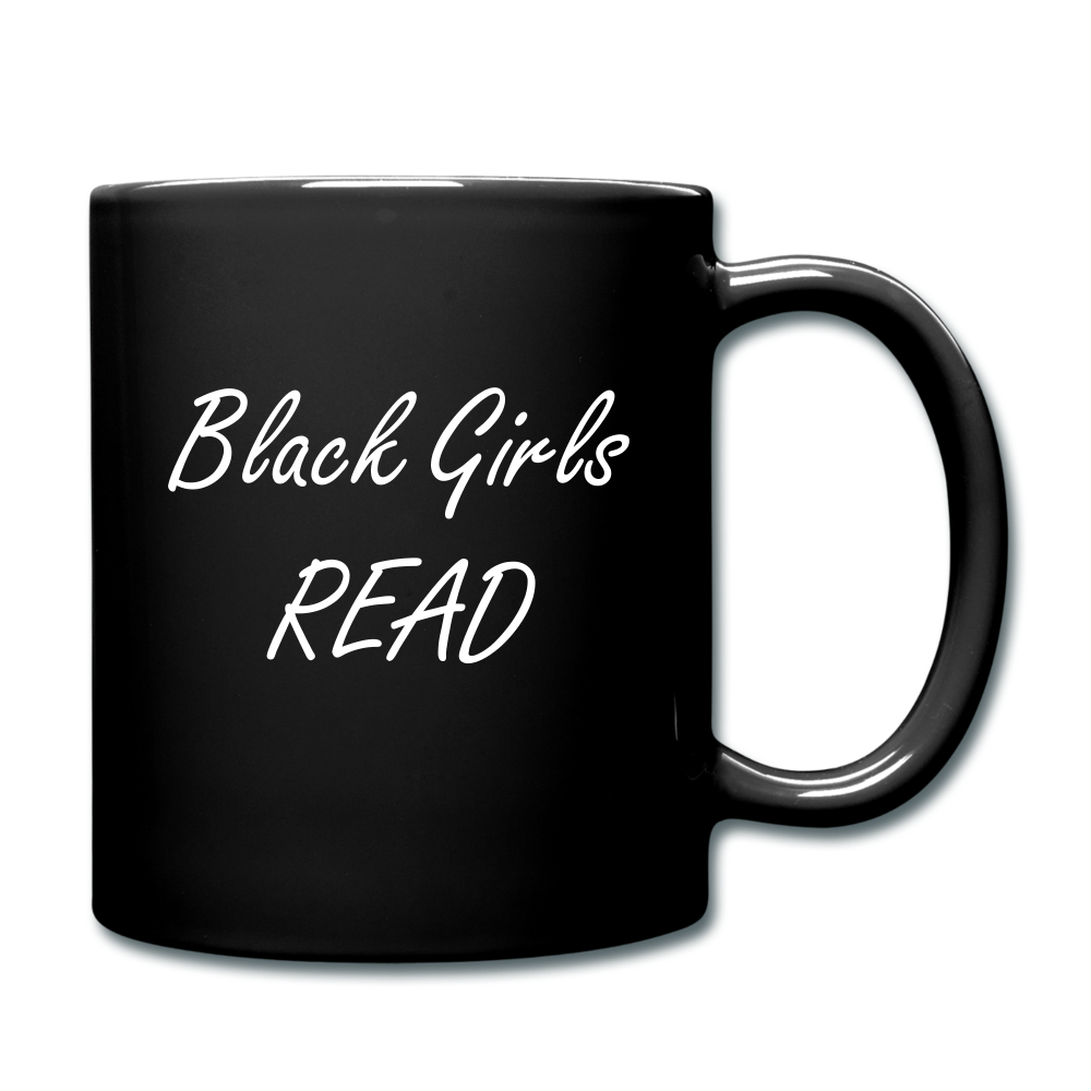 Black Girls Read Mug - black