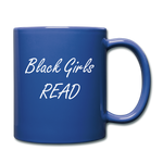 Black Girls Read Mug - royal blue