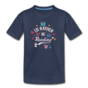 I'd Rather Be Reading - navy