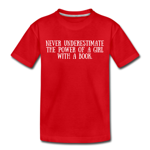 Book Power (girls) - red