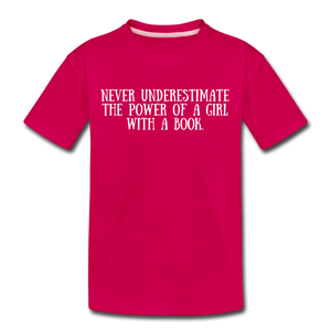 Book Power (girls) - dark pink