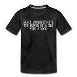 Book Power (girls) - charcoal gray