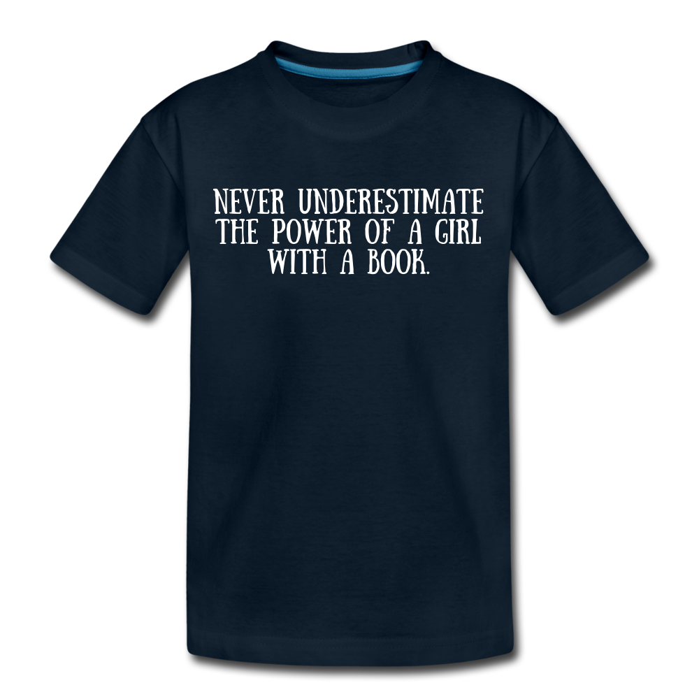 Book Power (girls) - deep navy