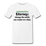 Literacy T-Shirt (Unisex) - white