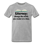 Literacy T-Shirt (Unisex) - heather gray