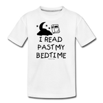 I Read Past My Bedtime - white