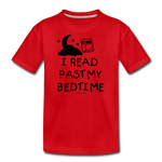 I Read Past My Bedtime - red