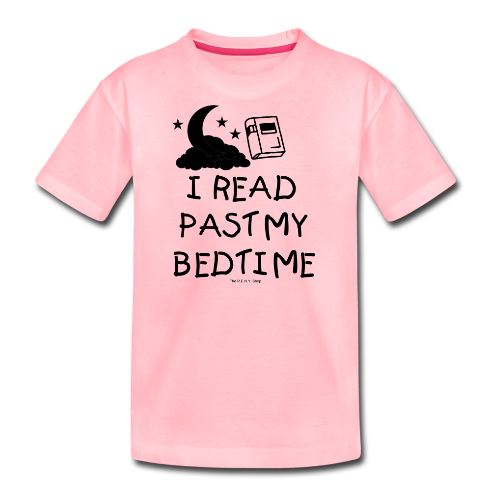 I Read Past My Bedtime - pink