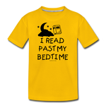 I Read Past My Bedtime - sun yellow