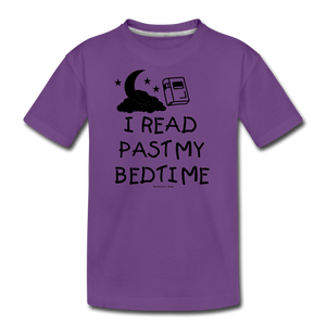 I Read Past My Bedtime - purple