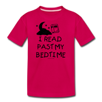 I Read Past My Bedtime - dark pink