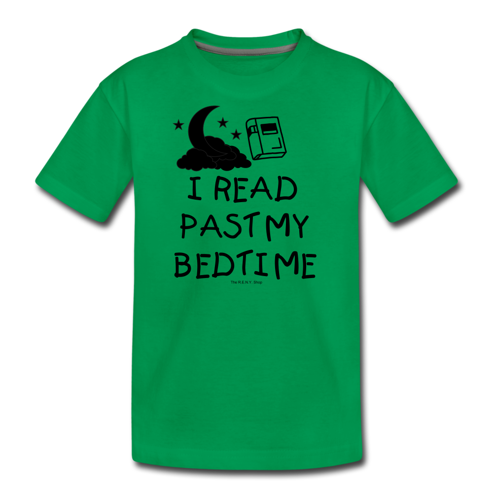 I Read Past My Bedtime - kelly green