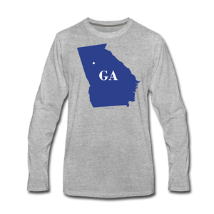Turn Georgia Blue - heather gray