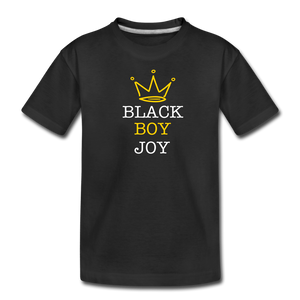 Black Boy Joy (tshirt) - black