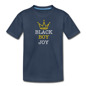 Black Boy Joy (tshirt) - navy