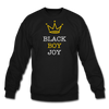 Black Boy Joy (Men Crewneck) - black