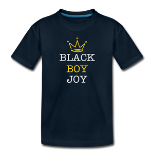 Black Boy Joy (toddler) - deep navy