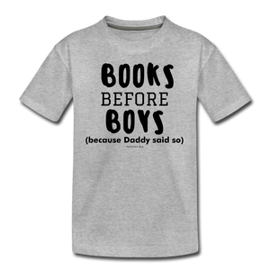 Books Before Boys - heather gray