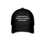 Black-Owned Business Cap - black