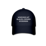 Black-Owned Business Cap - navy