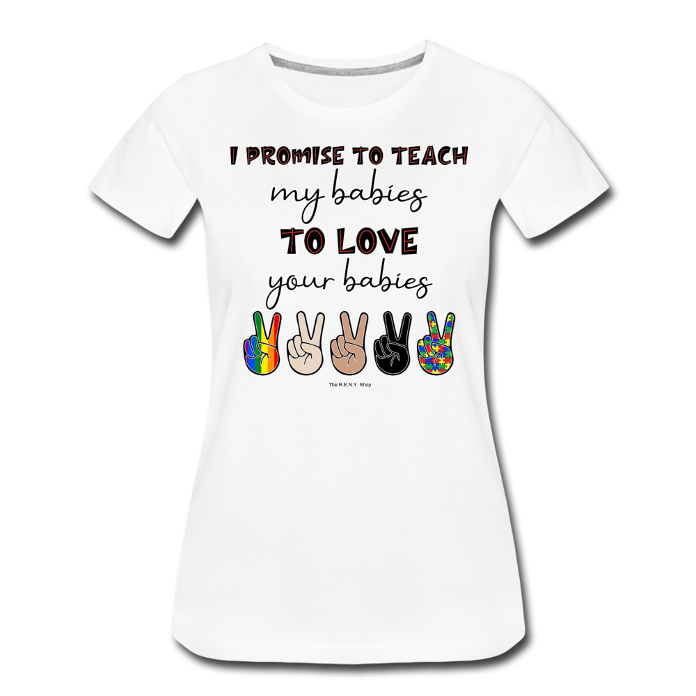 I Promise (Women) T-shirt - white