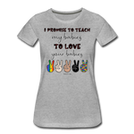 I Promise (Women) T-shirt - heather gray