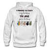 I Promise (Adult) Hoodie - light heather gray