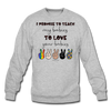 I Promise (Unisex) Crewneck - heather gray