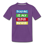Reading Is My Super Power - purple