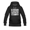Black Women Matter Hoodie (Feminine Cut) - black