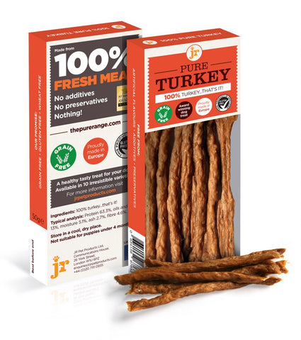 JR's 100% Natural Pure Range Turkey Treats