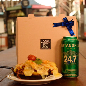 Combo Raclette y cerveza Patagonia