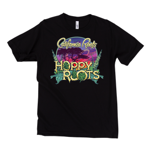 'Hoppy Roots' Unisex Shirt (Black) - California Roots Brand
