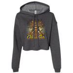 Roots Goddess - Pullover CROP Hoodie