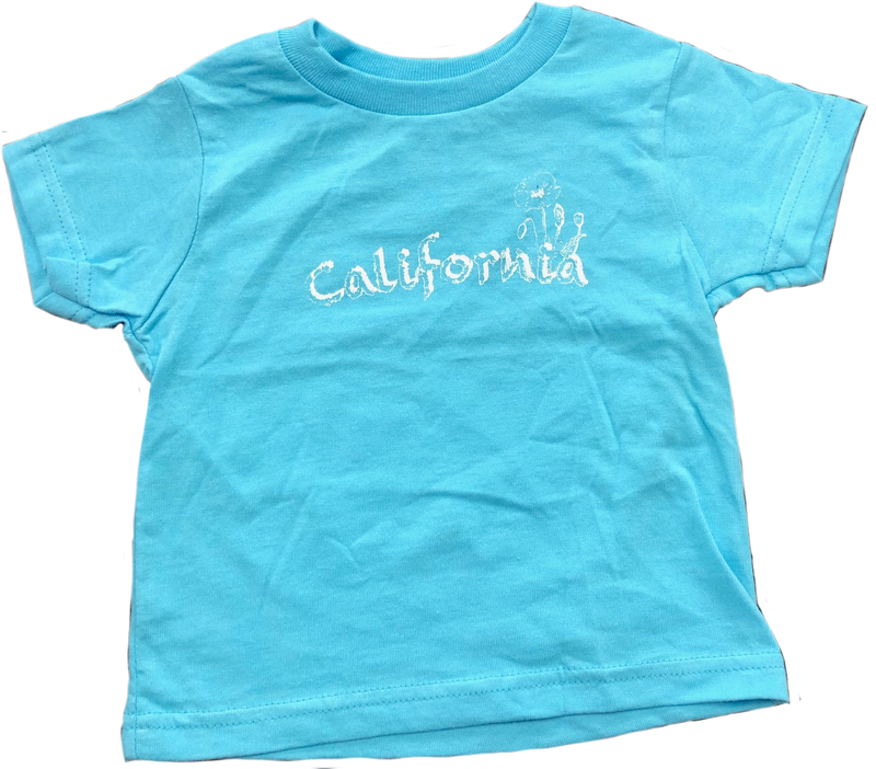 California Poppy - Kids TShirt