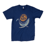 Foral Whale - T-Shirt
