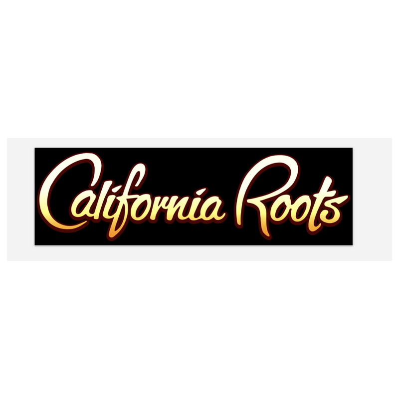 Cali Roots Bumper Sticker