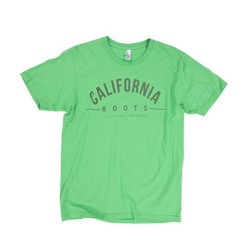 Cali Roots Clothing Co Classic in Kelly - TShirt