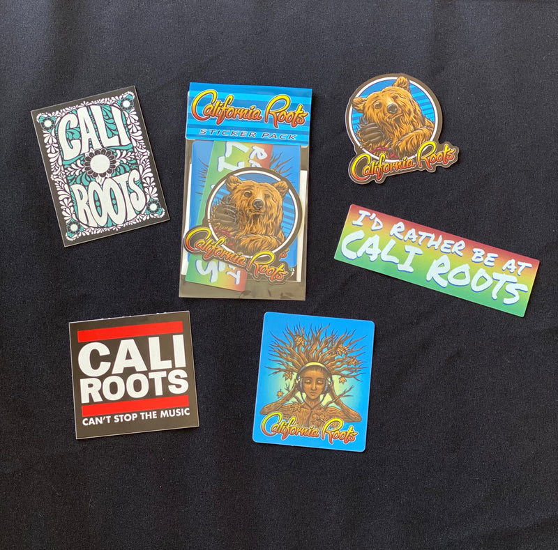 Cali Roots Sticker Pack