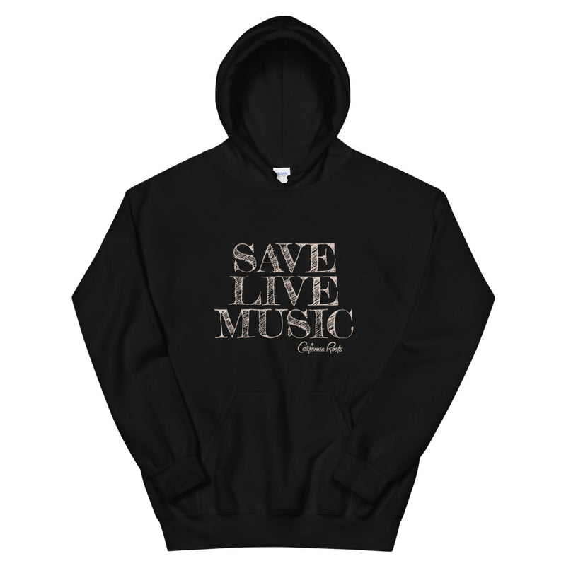 Save Live Music - Pullover Hoodie