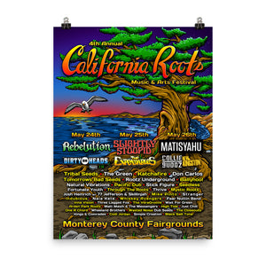 Official Cali Roots Festival Poster (2013) - California Roots Brand