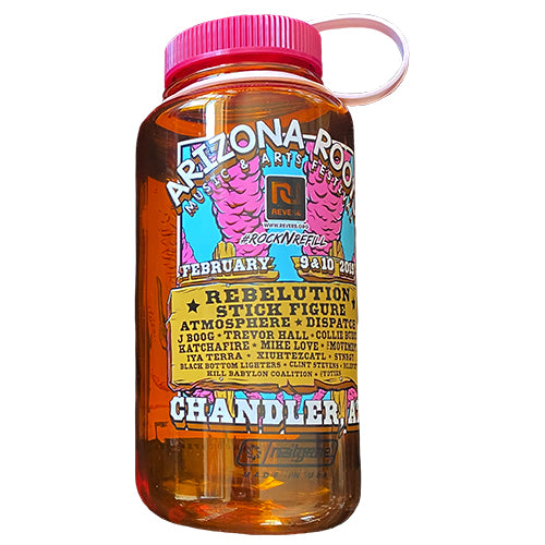 Arizona Roots Fest 2019 - Nalgene Water Bottle