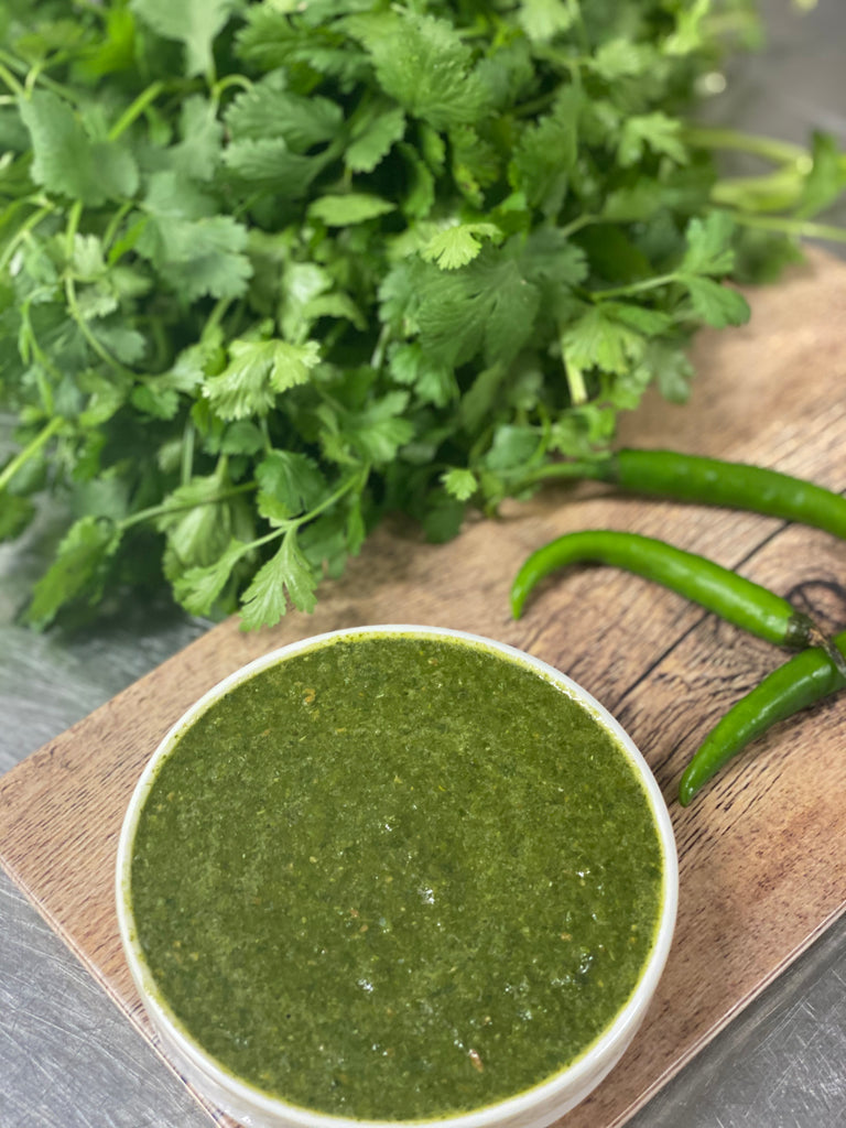 Secrets of our famous Green Chutney