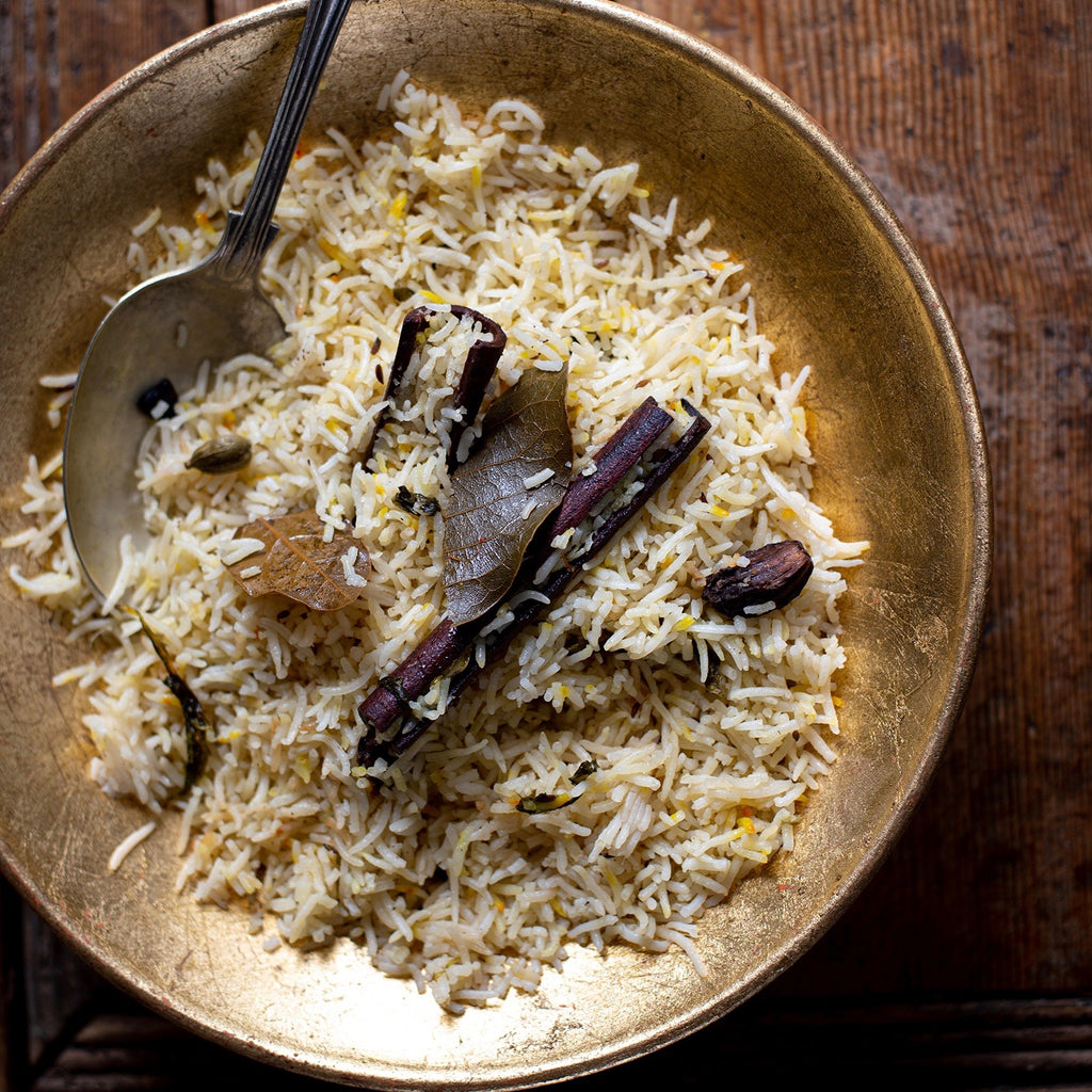 Baghara Rice a Hyderabadi style pulao rice