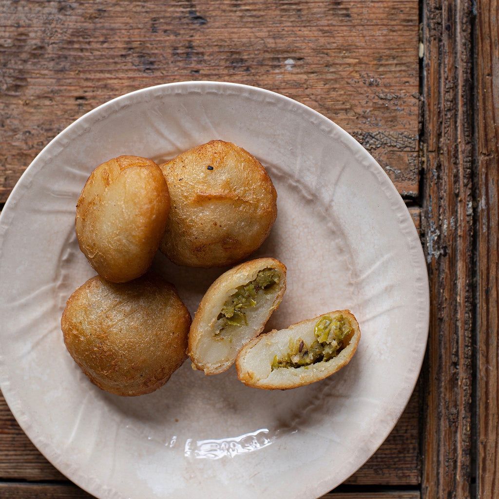 Peas Pattie - Potato Pattie stuffed with peas and spices