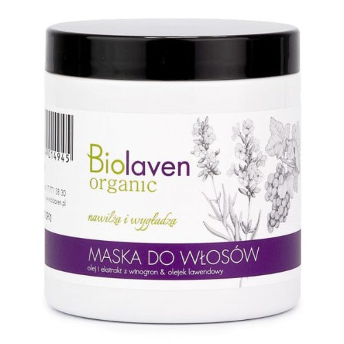 BIOLAVEN Maska do włosów 250ml - JaniOrgani