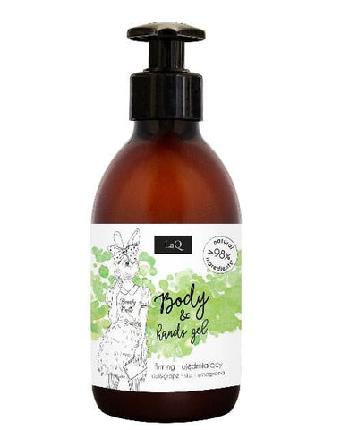 LaQ Firming Body & Hands Gel - Kiwi and Grapes 300ml - JAH Naturalia Limited