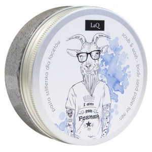 LaQ Wash and Scrub Body Sand Paper for Men, 200ml - JaniOrgani