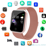 Unisex Stainless Steel Smart Watch Compatible with Android & IOS